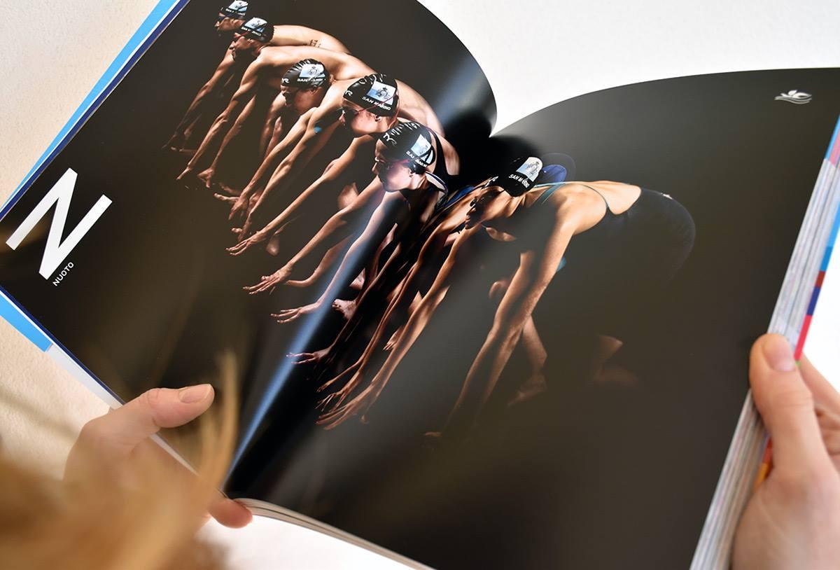libro fotografico_nuoto